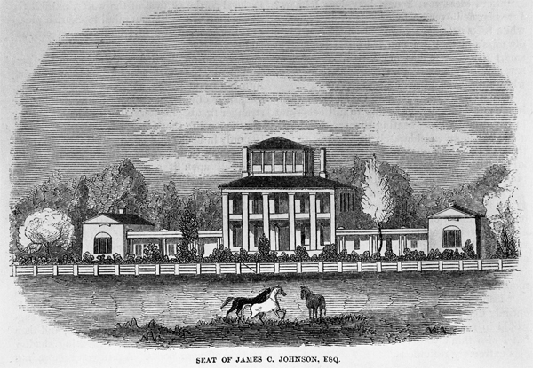 Seat of James C. Johnston