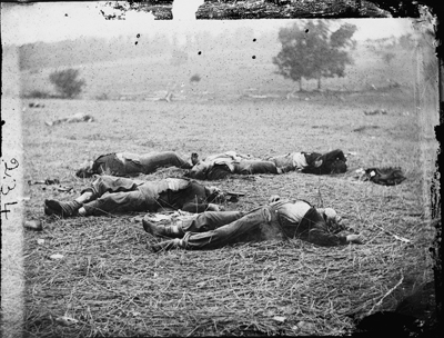 Casualties at the Battle of Gettysburg