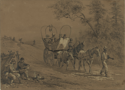 Slaves escaping to Union